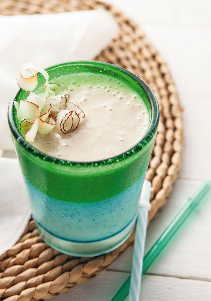 Smoothie de coco é ideal para pré-treino. Anote a receita!