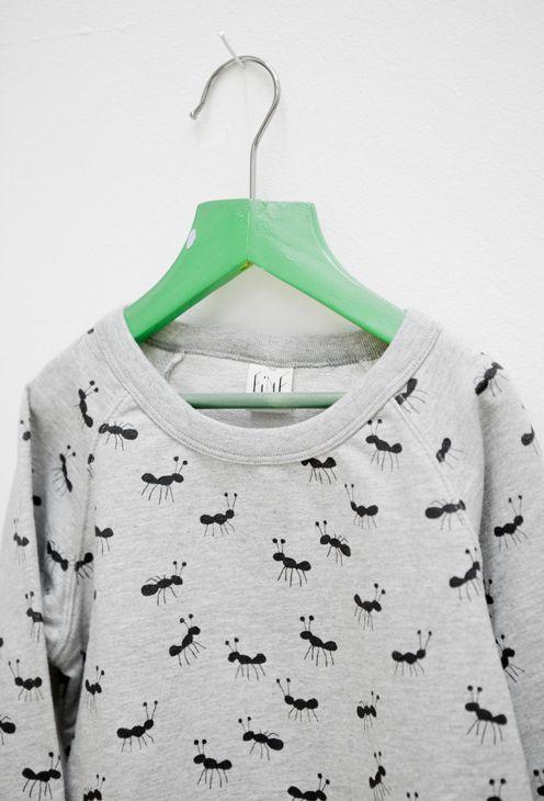 """""""Ant"""" sweatshirt from Elisabeth Dunker/Fine Little Day"""