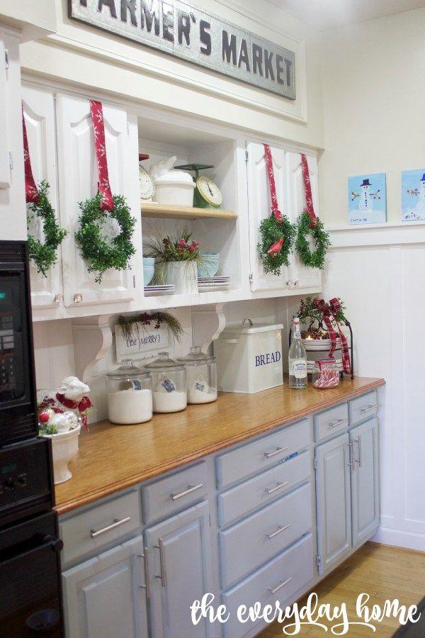Best 25 Farmhouse Christmas Kitchen Ideas On Pinterest