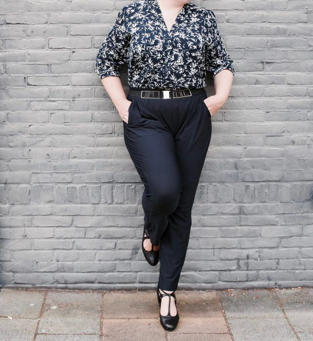 De ideale plus size pantalon voor in de zomer – Prettybusiness