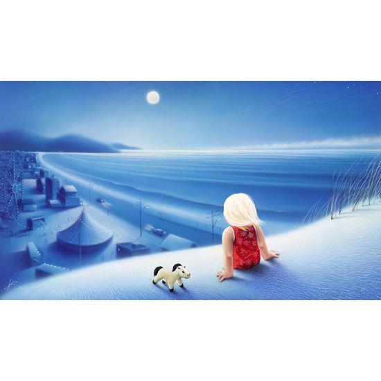 """Seaside Fair"" limited edition by Warren Salter"