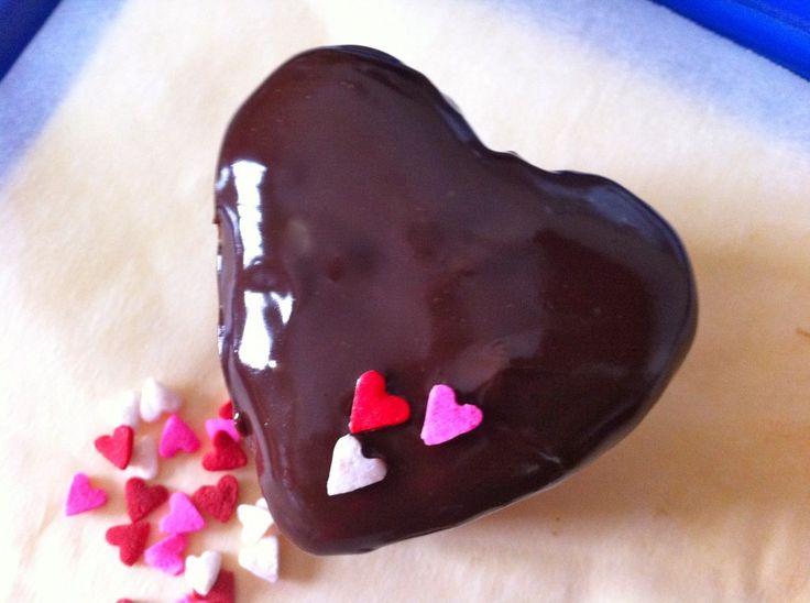 Cupcake a cuore