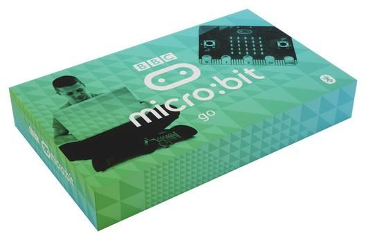 BBC micro:bit Go (inkl USB-kabel og batteri med holder)