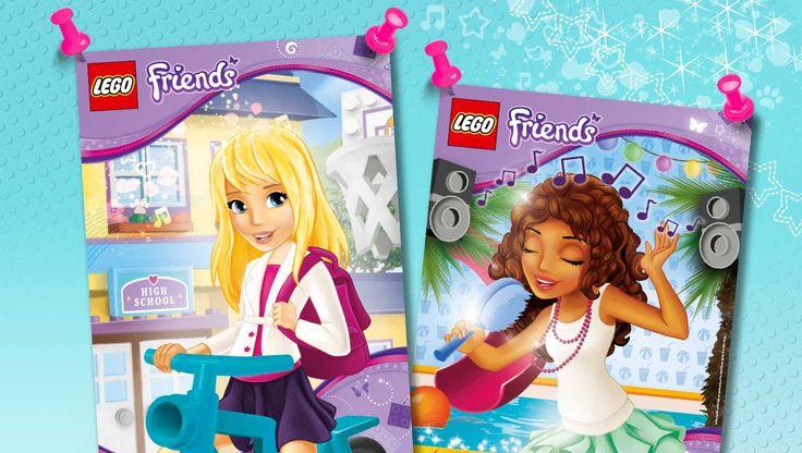 Download: LEGO® Friends posters voor je kamer - Downloads - Activiteiten - Friends LEGO.com