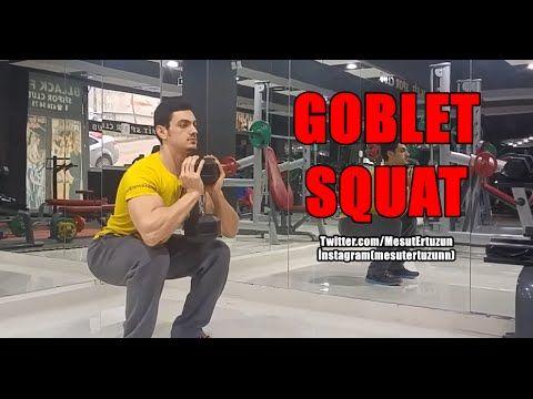Vücut Geliştirme Hareketleri - Dumbbell Goblet Squat