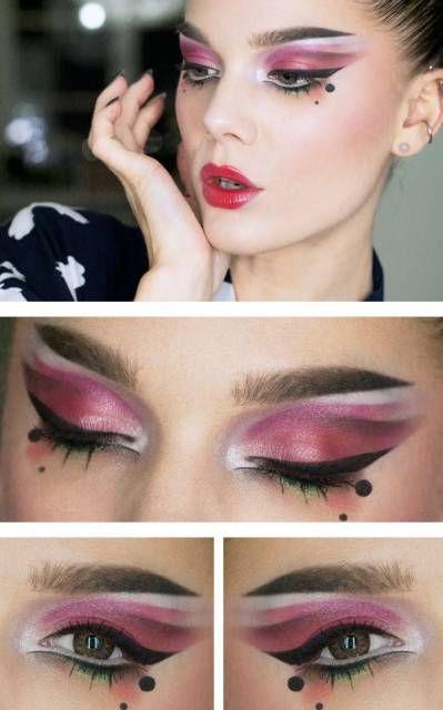 maquiagem para fantasia oriental
