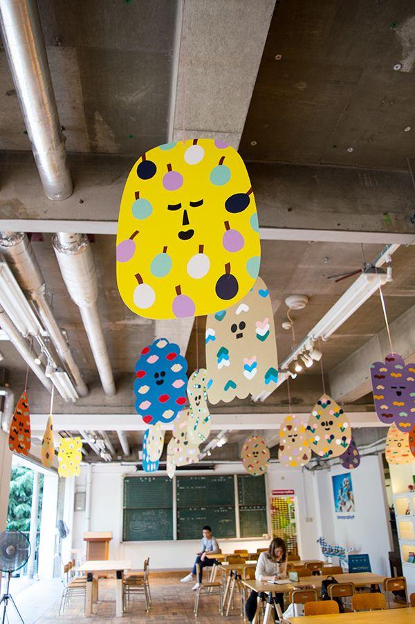 Kanda Shapes installation at 3331 Arts Chiyoda #leenakisonen #tokyo #artistinresidence