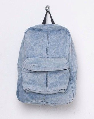 bag denim rucksack backpack travel hipster back to school denim backpack summer sports