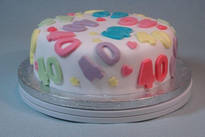 40th Birthday Cake Decorating Ideas, 40th Birthday Cake Decorating Ideas
