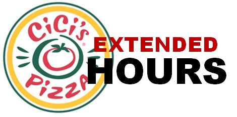 [SPONSORED] May is almost here! With that comes a new late night at CiCi's Pizza LC! Instead of a 24-hour Drive Thru, they heard your suggestions and listened to give you service inside and drive thru till 4am every morning! After you go out, stop by CiCi's Pizza to get your grub on! Starting May 1st.