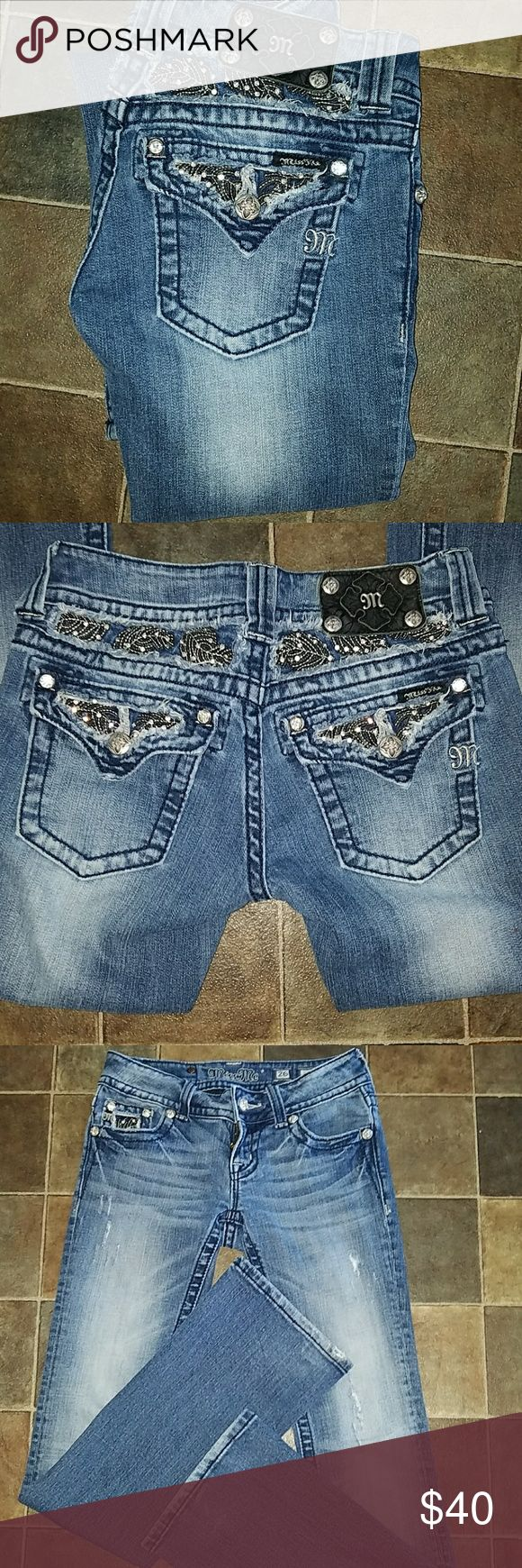 Miss Me Jeans Miss me jeans in great condition size 26 boot cut. Miss Me Jeans Boot Cut