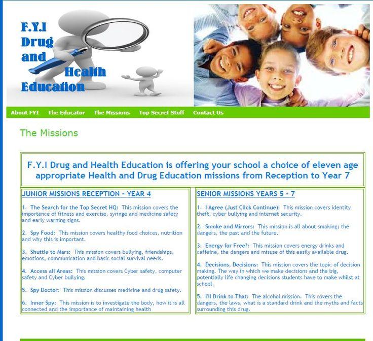 FYI Drug and Health Education