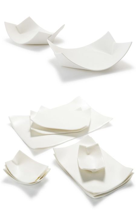 wayne mcara - ceramic plates that look like paper <3