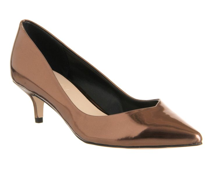 Office Georgia Point Court Bronze Metallic - Mid Heels WHAT A DEAL!