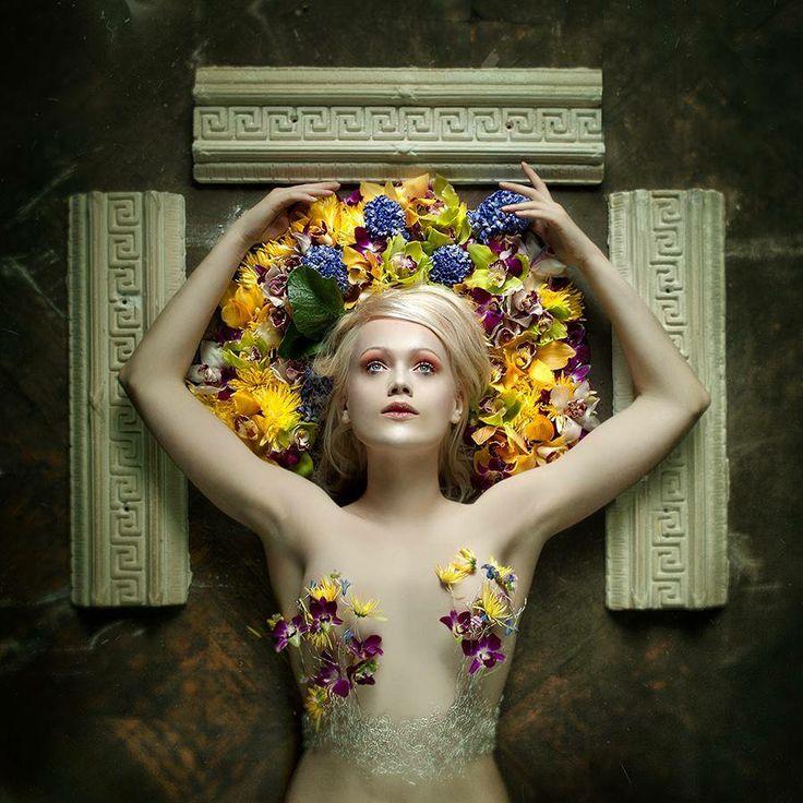 Christian Martin Weiss Photography --- photo Magda Purchla Face Art --- make up Katarzyna Tkaczewska --- florist   ... I wanna hear a couple of hallelujahs!  cover, EP