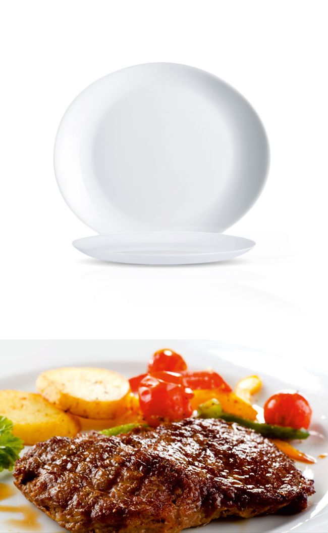 Talerz do steków, 300x260 mm | ARCOROC, Steak