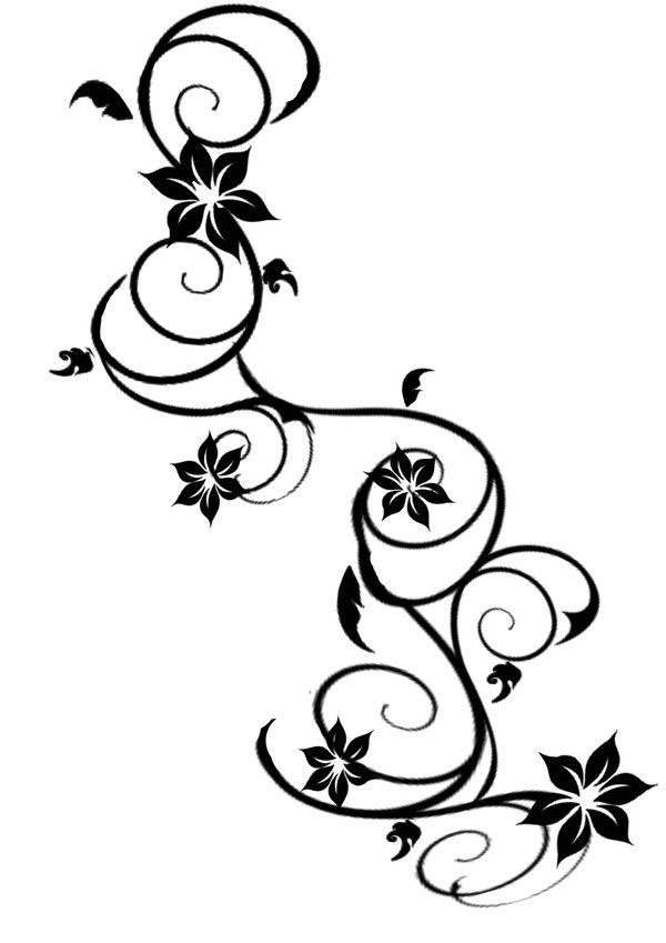 similar to the tattoo I want next...flowers would be different colors to represent each of my children