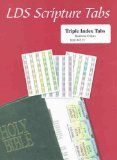 LDS Triple Combination Multicolor Scripture Tabs - Easy to Apply - Book of Mormon, Doctrine & Covenants, Pearl of Great Price / http://mormonfavorites.com/lds-triple-combination-multicolor-scripture-tabs-easy-to-apply-book-of-mormon-doctrine-covenants-pearl-of-great-price/