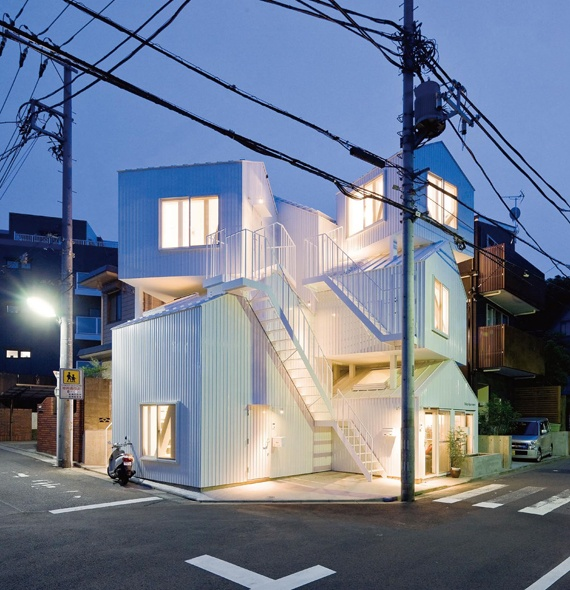 High Quality Tokyo Apartment Located In Itabashi Ku, Tokyo. Sou Fujimoto Architect Amazing Design