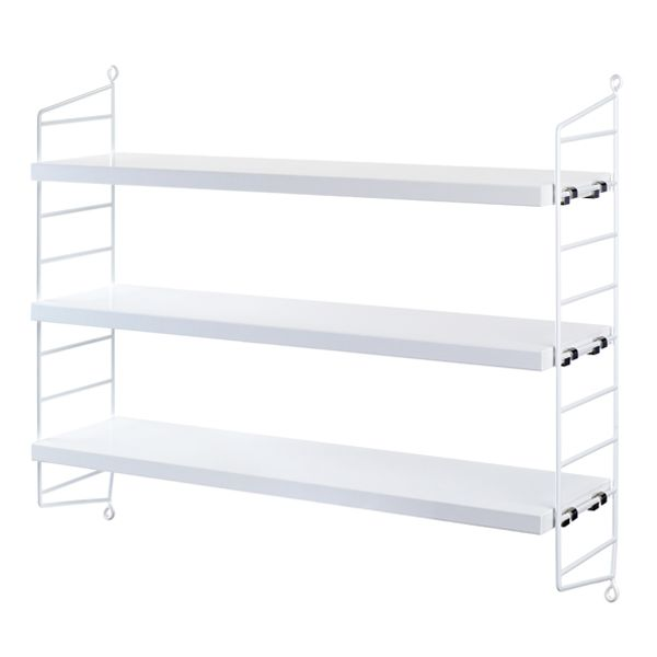 String Pocket shelf, white