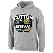 Michigan State Spartans vs. Baylor Bears 2015 Cotton Bowl Dueling Stadium Showdown Pullover Hoodie – Gray