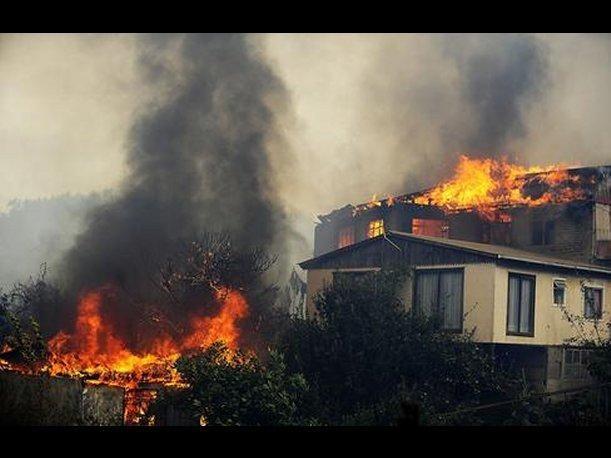 """CHILE """"Voraz incendio"""