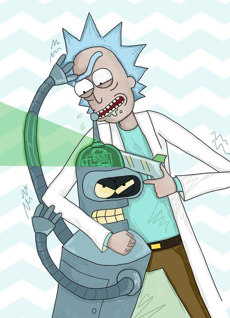 Rick and Morty,Рик и Морти, рик и морти, ,фэндомы,R&M ...