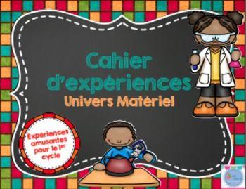 Ce produit contient tout ce dont vous aurez besoin pour enseigner l'univers matriel en science au 1er cycle!