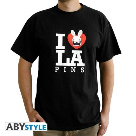 LAPINS CRETINS T-shirt Lapins Crétins Love Lapin