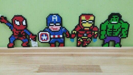Marvle super heroes hama bead / perler beads