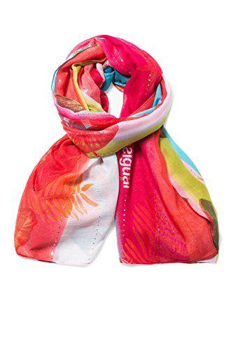 066286e8b57a DESIGUAL Halstuch Pashmina Tuch FOULARD POLYNESIA 72W9WA7 3000.  apparel   accessory .
