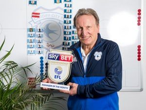 Cardiff City boss Neil Warnock claims Championship Manager of the Month award