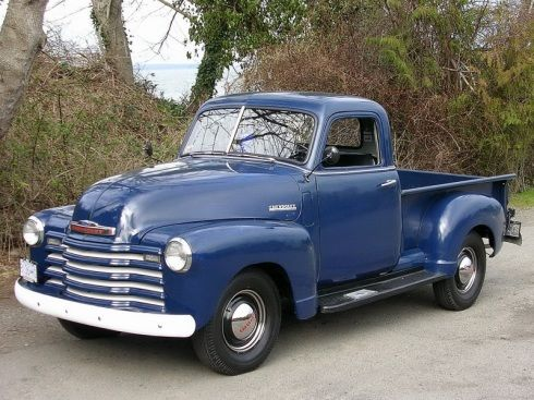 Chevy Pick Up Truck 1953 Bare Metal an awesome rides                                                                                                                                                                                 More