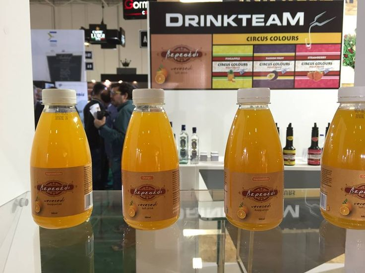 """@FoodExpo 2016, presentation of the new greek softdrink """"Veresedi""""  Brand & label by I. Aravantinou, print by Cabas, Manufactured and bottled by """"Drinkteam"""" , +30 2295041226"""
