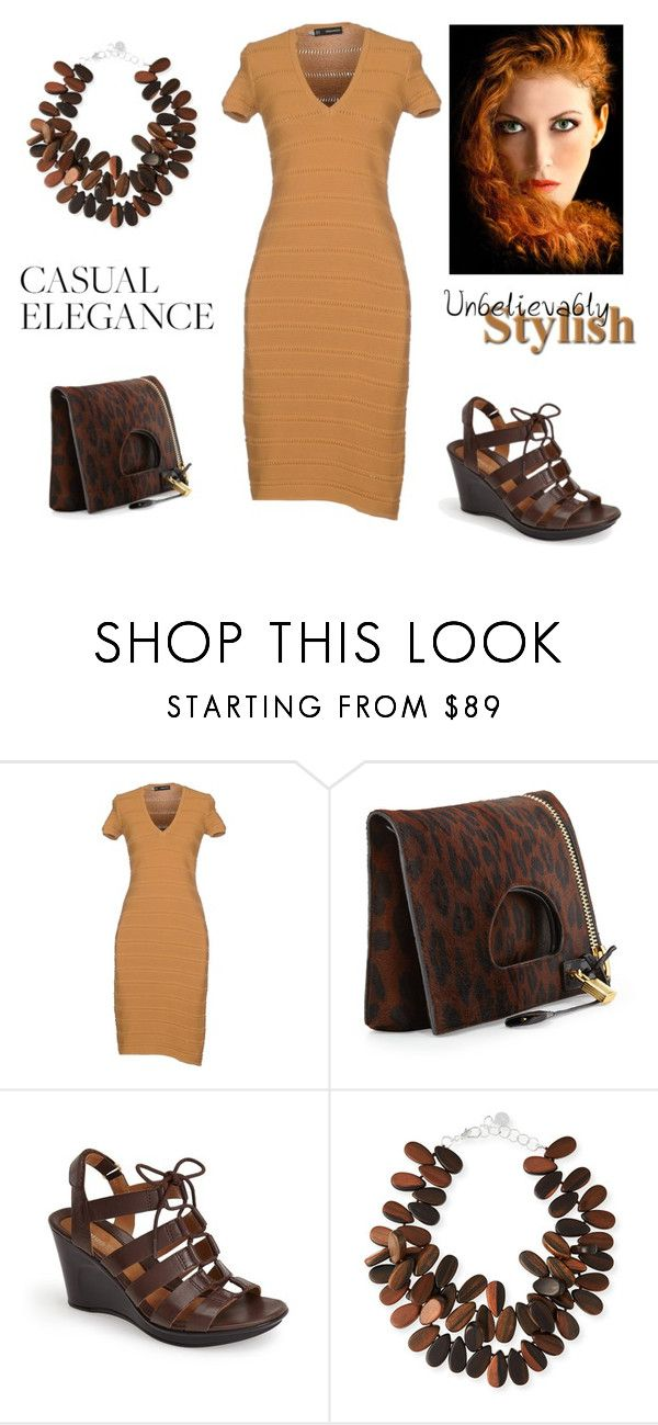 """""""STYLISH YET SIMPLE"""" by citas ❤ liked on Polyvore featuring Dsquared2, Tom Ford, Naturalizer and NEST Jewelry"""
