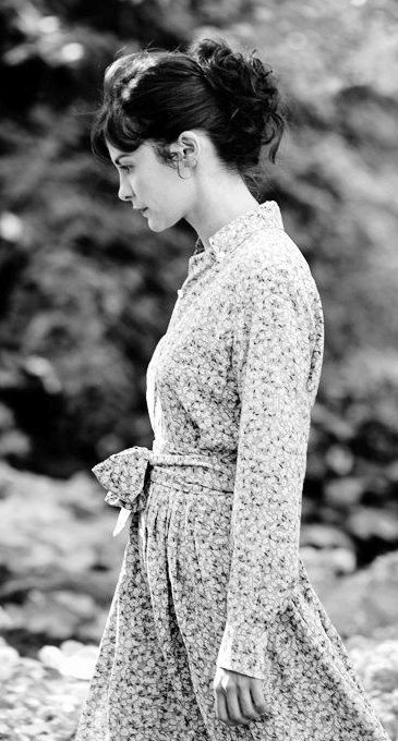 Audrey Tautou. She can manage to work a prairie dress. Jealous.