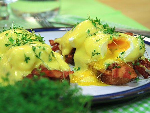 Klassisk ägg benedict | Recept.nu