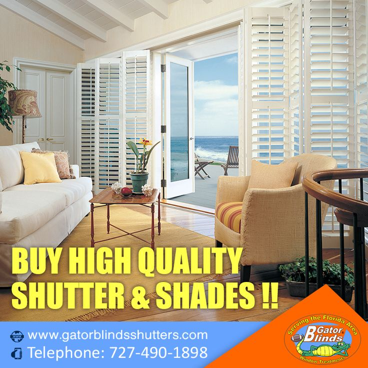 Buy Blinds Online: Shop from different types of blinds like designer wooden blinds, printed window blinds & shades at Lowest Prices.? Free Shipping. Call 727-490-1898  Visit: https://www.gatorblindsshutters.com  #Window #winowtreatment #windowblinds #homeimprovement #Florida #USA