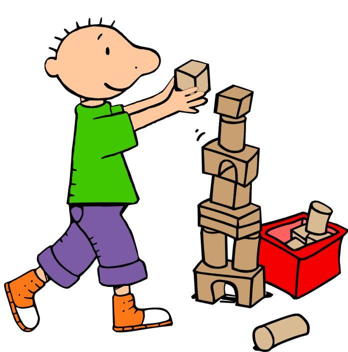 Blokken/ constructiehoek