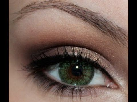 makeup look for green eyes, some colors can be found in my Pop Hazel Eyes palette
