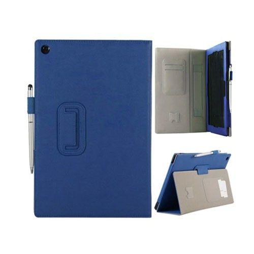 Alpha (Blå) Sony Xperia Tab Z Lær Deksel
