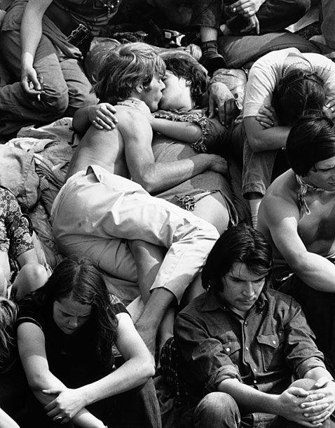 Isle of Wight Festival, September 1969.