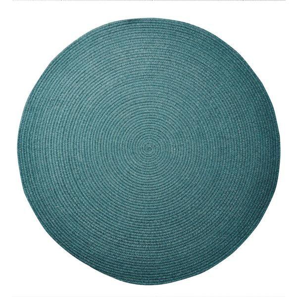 Marlow Round Rug - Teal