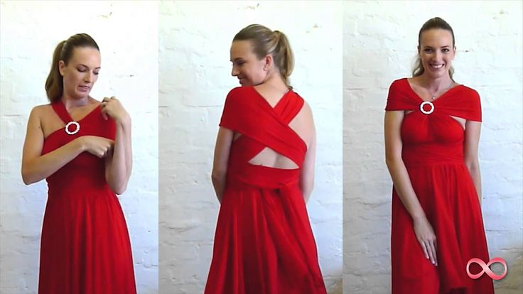 How to Wrap the Infinity Dress South Africa, One dress 27 different ways to wear it, order online; www.infinityoriginal.co.za  or email us today! sales@infinity-dress.co.za