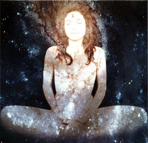 We are a hologram of the universe ❤ all that ever was or will be lies within..