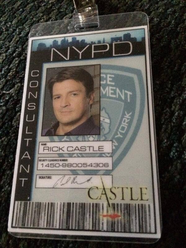 Richard Castle....Just NY......