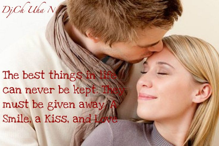 Kissing the one we love brings out joyful emotions that make us feel complete and happy. If you're looking for some inspiration kiss quotes, these romantic quotes will help you express how kissing makes you feel.A first kiss is the demarcation line: the same information that a moment ago felt private, all of a sudden seems unfair to withhold. And with that exchange came more said byFrancesca Marciano. Below we have a collection of typography quotes nicely designed centered around the…