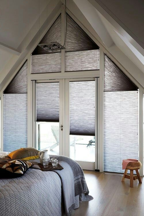 8 Best Odd Shaped Window Treatments Images On Pinterest