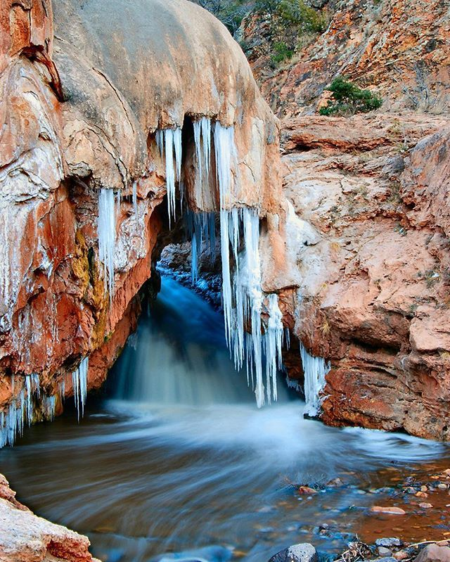 Soda Dam in the Jemez Mountains.  The drive from ABQ to Los Alamos is gorgeous through the Jemez!  Cindy Thomas #nmlife