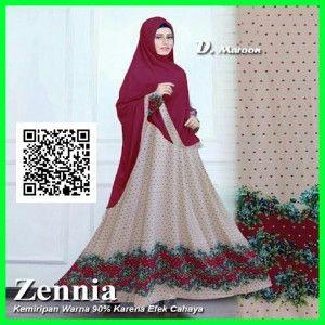 zennia-gamis-pesta-terbaru-modern-mgs32-maroon
